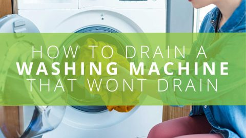 How to Drain a Washing Machine That Won't Drain